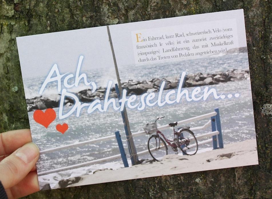 Postkarte der Jungen Grünen Düsseldorf