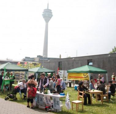 Das DGB-Familienfest war dieses Jahr erstmalig am Johannes-Rau-Platz und wieder ein voller Erfolg!